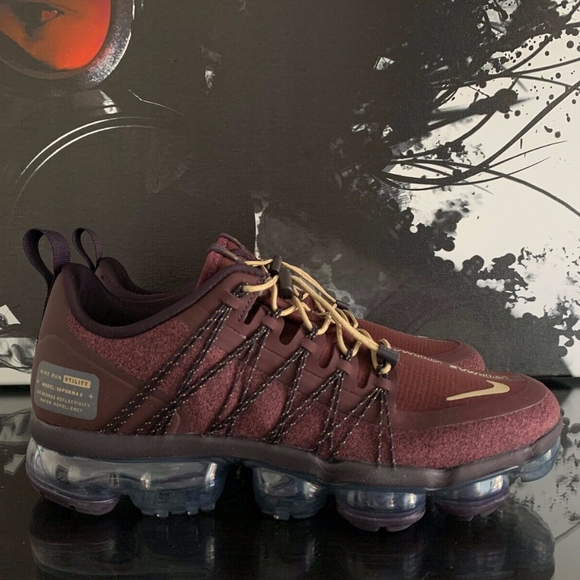 Nike Air Vapormax Run Utility Burgundy